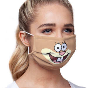 Load image into Gallery viewer, Spongebob Sandy Cheeks Face Adult Main/Model View