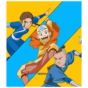 Load image into Gallery viewer, Avatar: The Last Airbender Aang, Katara and Sokka Kids Mask Design Full View