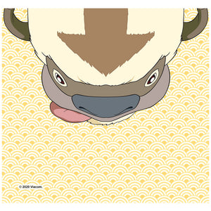 Avatar: The Last Airbender Appa Face Adult Mask Design Full View