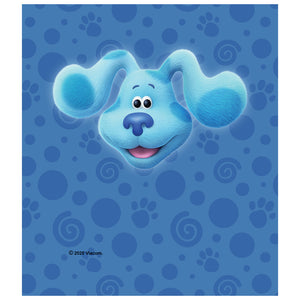 Blue's Clues and You! Blue Head Kids Mask Design Full View
