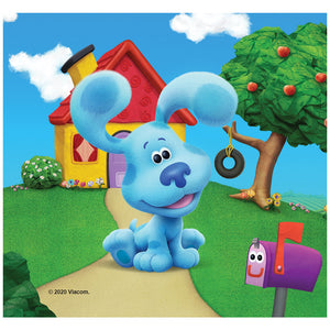 Blue's Clues and You! Blue's House Adult Mask Design Full View