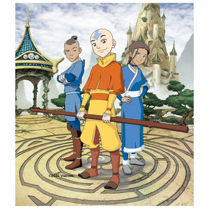 Avatar: The Last Airbender Cast of Characters Kids Mask Design Full View