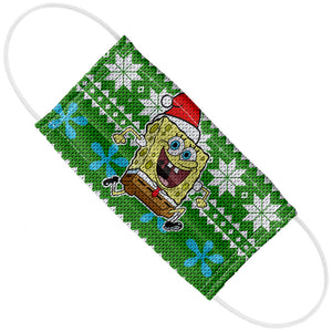 SpongeBob Ugly Sweater Adult Flat View