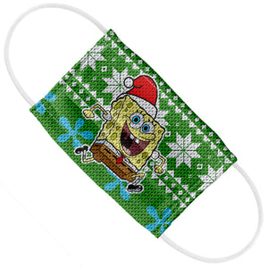SpongeBob Ugly Sweater Kids Flat View