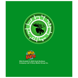Load image into Gallery viewer, Wild Kratts Green Moose Power Disc Kids Mask Design Full