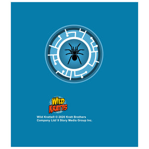 Wild Kratts Blue Tarantula Power Disc Kids Mask Design Full