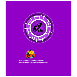Wild Kratts Purple Frog Power Disc Kids Mask Design Full
