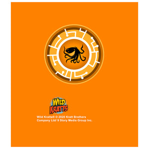 Wild Kratts Orange Octopus Power Disc Kids Mask Design Full