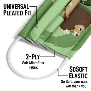 Wild Kratts Lion Power Adult Universal Pleated Fit, 2-Ply, SoSoft Elastic Earloops