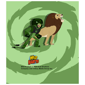 Wild Kratts Lion Power Kids Mask Design Full