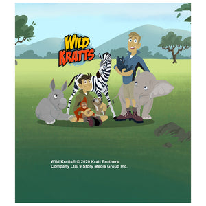 Load image into Gallery viewer, Wild Kratts Animal Friends Kids Mask Design Full