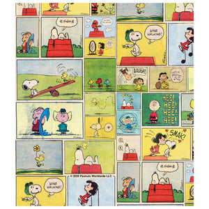 Load image into Gallery viewer, Peanuts Classic Comic Pattern