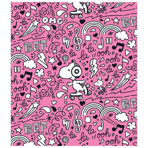 Load image into Gallery viewer, Peanuts Snoopy BFF Roller Skate Sketch Pattern