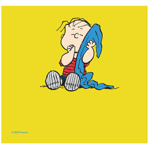 Peanuts Linus Security Blanket Adult Mask Design Full View