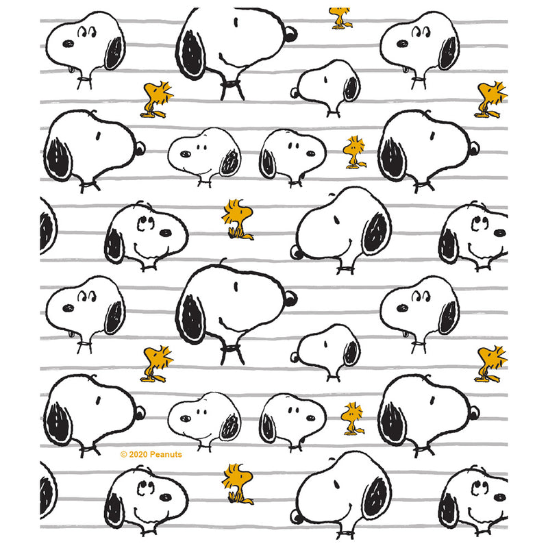 Peanuts Snoopy All Lined Up Pattern