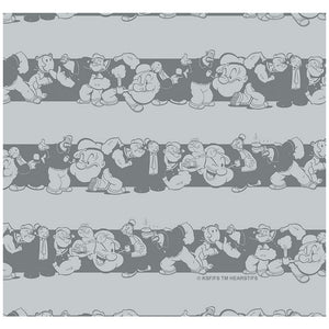 Popeye Character Stripes Pattern
