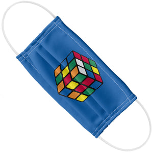 Rubik's Cube Blue Adult Flat View