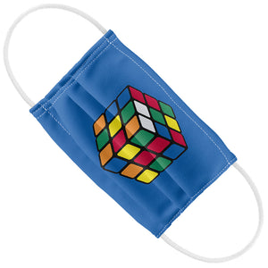 Rubik's Cube Blue Kids Flat View