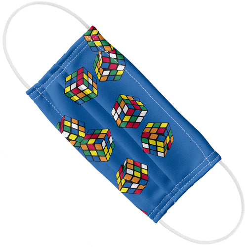 Rubik's Rolling Cubes Blue Adult Flat View
