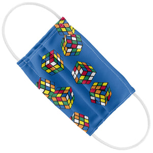 Load image into Gallery viewer, Rubik's Rolling Cubes Blue Kids Flat View