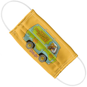 Scooby-Doo The Mystery Machine Driving Adult Flat View