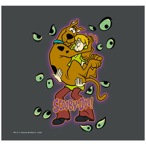 Scooby-Doo Shaggy Being Watched Adult Mask Design Full View