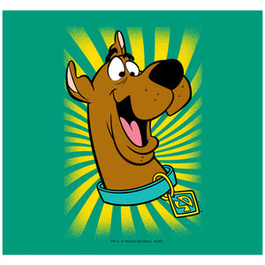 Scooby-Doo Burst Adult Mask Design Full View