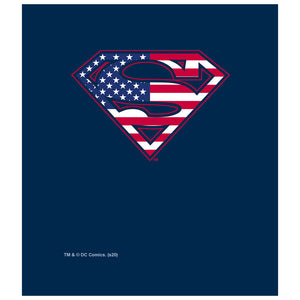 Superman U.S. Shield Kids Mask Design Full View
