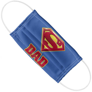 Superman Super Dad Adult Flat View