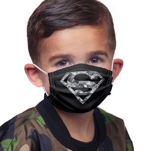 Superman Urban Camo Shield Kids Main Model View