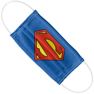 Superman New 52 Logo Shield Adult Flat View