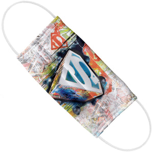 Superman Urban Shields Adult Flat View