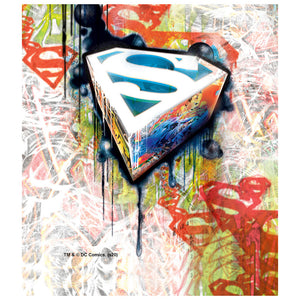 Superman Urban Shields Kids Mask Design Full View