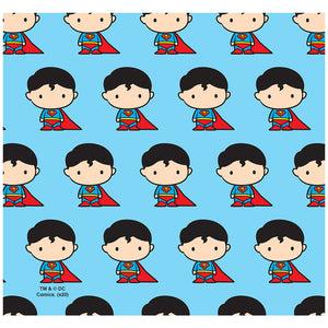Superman Cute Chibi Character Pattern Adult Mask Design Full View