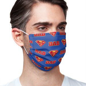Superman Super Dad Shield Logo Pattern Adult Main/Model View