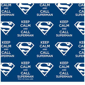 Superman Keep Calm and Call Pattern