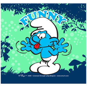 Load image into Gallery viewer, Smurfs Jokey Funny Adult Mask Design Full View