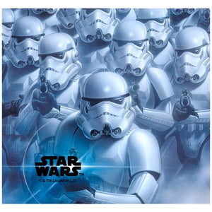 Star Wars Stormtrooper Squadron Adult Mask Design Full View