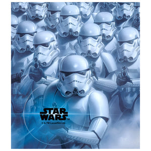 Star Wars Stormtrooper Squadron Kids Mask Design Full View