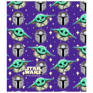 Star Wars Cute Guardian and The Child Kids Mask Design Full View