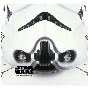Load image into Gallery viewer, Star Wars Stormtrooper Mask Adult Mask Design Full View