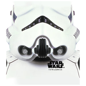 Load image into Gallery viewer, Star Wars Stormtrooper Mask Kids Mask Design Full View