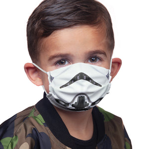 Load image into Gallery viewer, Star Wars Stormtrooper Mask Kids Main Model View