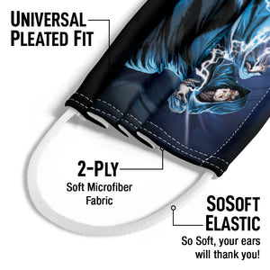 Load image into Gallery viewer, Star Wars Palpatine Lightning Kids Universal Pleated Fit, 2-Ply, SoSoft Elastic Earloops