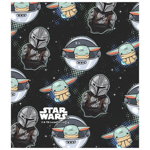 Star Wars Kawaii The Child Use the Force Kids Mask Design Full View