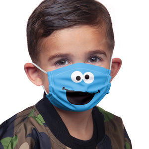 Sesame Street Cookie Monster Face Kids Main Model View