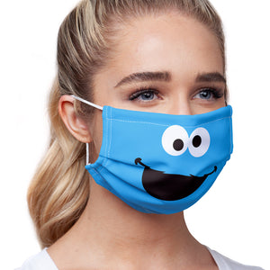 Sesame Street Cookie Monster Face Adult Main/Model View