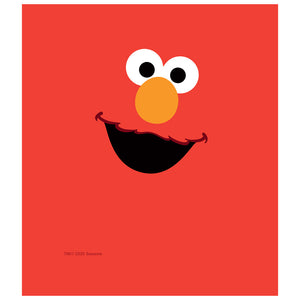 Sesame Street Elmo Face Kids Mask Design Full View