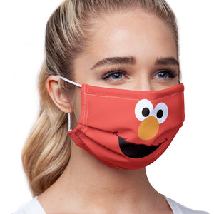 Sesame Street Elmo Face Adult Main/Model View