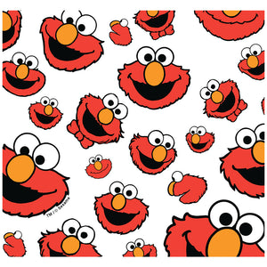 Load image into Gallery viewer, Sesame Street Elmo Face Pattern Adult Mask Design Full View